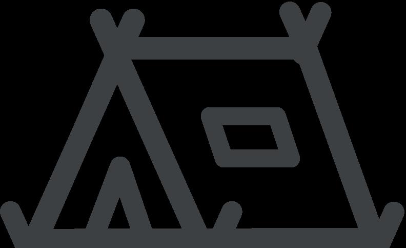 tent icon grey
